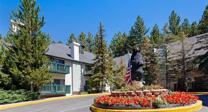 Big Bear Christmas.Hotel In Big Bear Lake Bw Big Bear Chateau Big Bear Lake