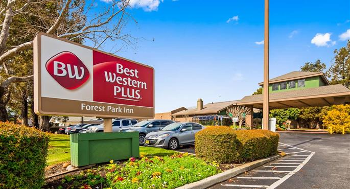 Hotel in Gilroy BW Plus Forest Park Inn Gilroy