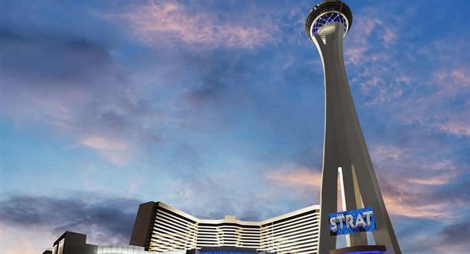 Beliebt Bevorzugt Hotel in Las Vegas - Stratosphere Hotel, Casino & Tower, BW &TS_65