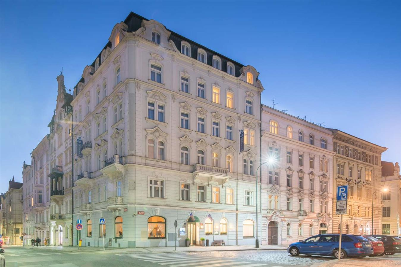 Prague City Hotel Moran