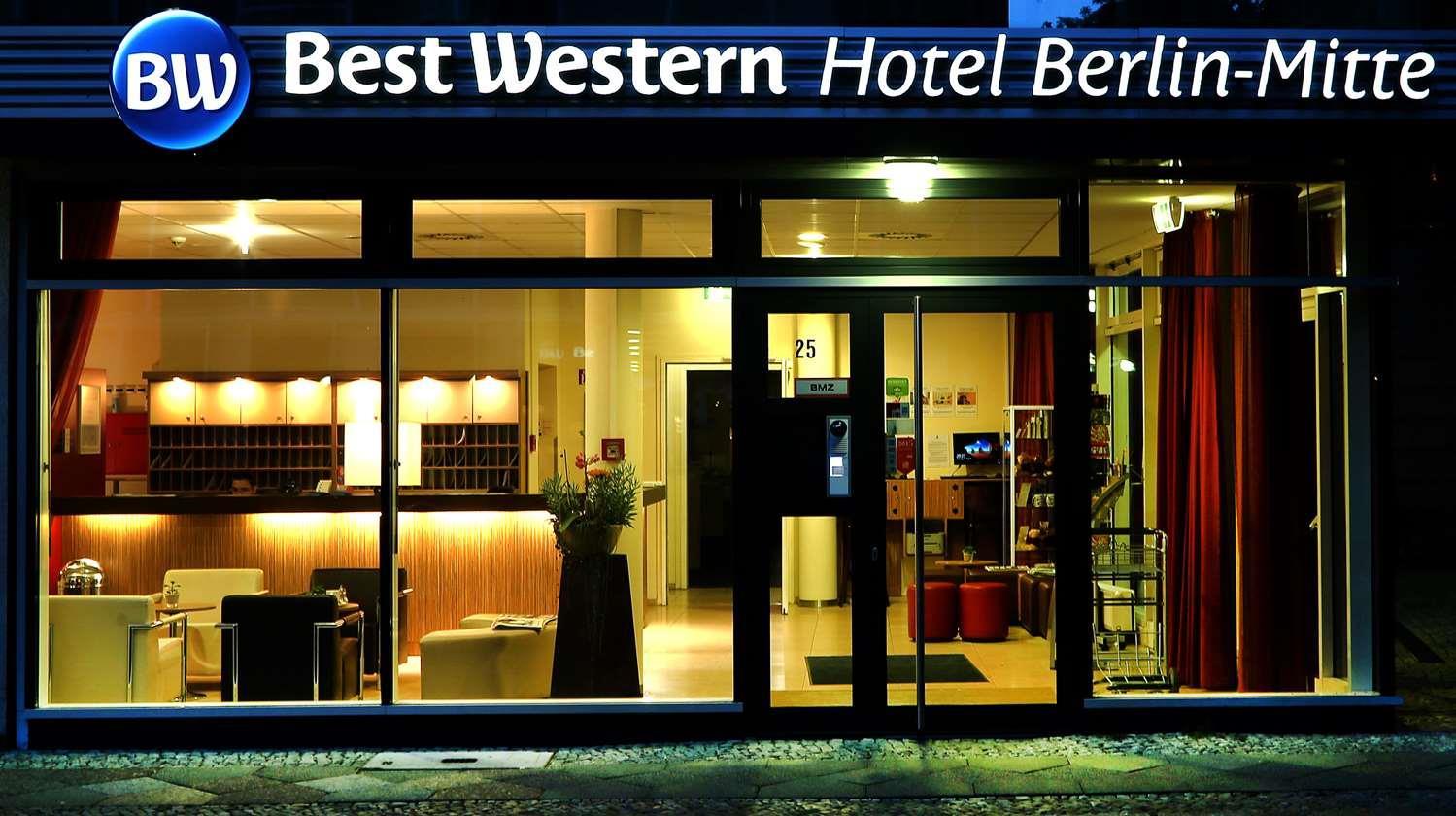 Hotel in berlin bw hotel berlin mitte berlin for Trendige hotels in berlin